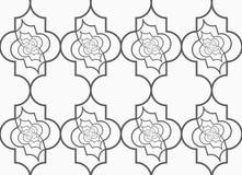 Slim gray vertical Marrakesh twisted grid Royalty Free Stock Image