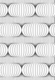 Slim gray vertical merging Chinese lanterns Stock Photo