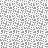 Slim gray wavy squares in different sizes Stock Images
