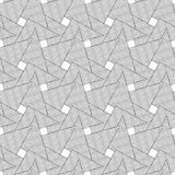 Slim gray wavy striped overlapping triangles Royalty Free Stock Photos