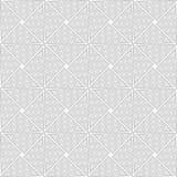 Slim gray wavy striped triangles Stock Photos