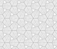 Slim gray wavy textured tetrapods Stock Photography