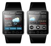 Slim-horloge Royalty-vrije Stock Afbeelding