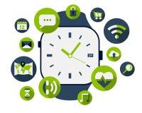 Slim horloge Royalty-vrije Stock Foto's