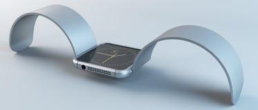 Slim horloge Royalty-vrije Stock Foto