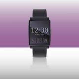 Slim horloge, vectorillustratie Stock Foto's