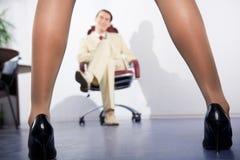 Slim legs Royalty Free Stock Photography