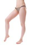 Slim legs Stock Images