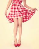 Slim legs Stock Photography