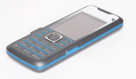 Slim mobile phone Stock Photo