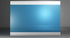Slim mobile tablet 3d Royalty Free Stock Photography
