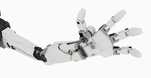 Slim Robot Arm Stock Image