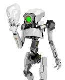 Slim Robot, Mask Royalty Free Stock Image