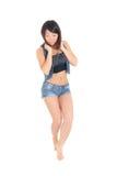Slim sensual girl Royalty Free Stock Photo