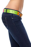 Slim stomach. diet concept Stock Images