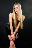 Slim stylish blonde Royalty Free Stock Images