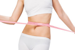 Slim waist Stock Photo