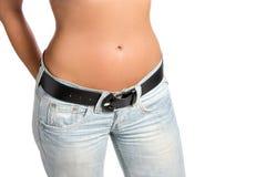 Slim waist royalty free stock image