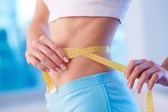 Slim waist royalty free stock photos