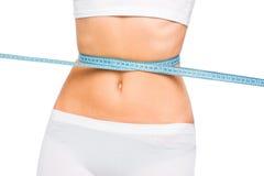 Slim waist. Girl's torso Royalty Free Stock Photos