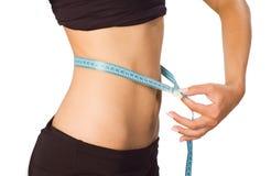 Slim waist. Girl's torso Royalty Free Stock Photo