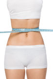 Slim waist. Girl's torso Stock Photos