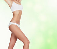 Slim woman Stock Photo