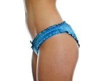 Slim woman body. Royalty Free Stock Photo