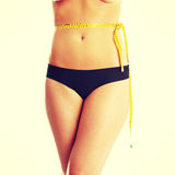 Slim woman Royalty Free Stock Photo