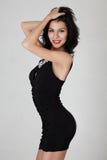 Slim woman posing Royalty Free Stock Photography