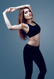 Slim woman Royalty Free Stock Photography