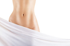Slim woman's body Royalty Free Stock Image