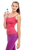 Slim woman After workout Stock Photography