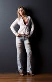slim woman young Στοκ εικόνα με δικαίωμα ελεύθερης χρήσης