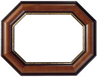 Slim Wooden frame Royalty Free Stock Image