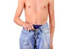 Slim Young Man Stock Photos