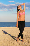 Slim young woman Royalty Free Stock Images