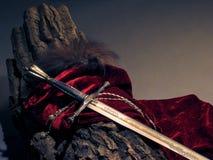 Slim zwaard Royalty-vrije Stock Foto's