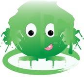 Slime πλάσμα Στοκ Φωτογραφίες