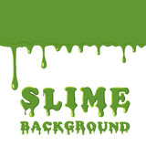 Slime oozing background Royalty Free Stock Photography