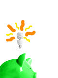 Slimme energie Royalty-vrije Stock Afbeeldingen