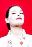 Slimme Geisha royalty-vrije stock afbeelding