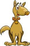 Slimme Hond stock illustratie
