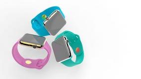 Slimme horloges royalty-vrije stock fotografie