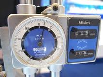 Slimme meter in bitecbangna van Metallex 2014, Thailand royalty-vrije stock afbeeldingen