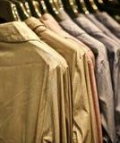 Slimme overhemden, Italiaanse stijl Stock Foto's