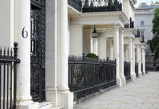Slimme straat in Londen Royalty-vrije Stock Foto