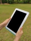 Slimme Tablet ter beschikking stock foto's