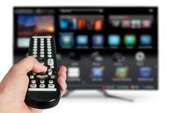 Slimme TV Royalty-vrije Stock Afbeelding