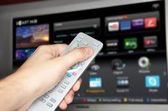 Slimme TV Royalty-vrije Stock Foto's
